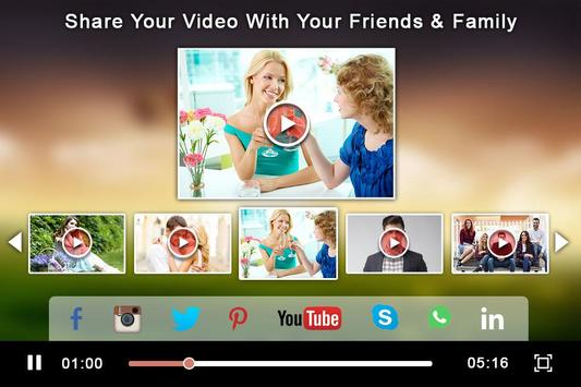 Photo Video Maker With Music screenshot 4