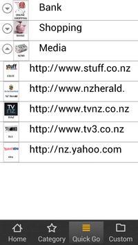 My Bookmarks NZ apk screenshot