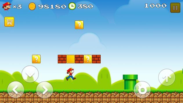 Super World of Mario poster