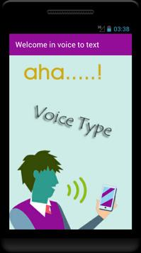 Voice to Text Speech - For whats app facebook chat poster