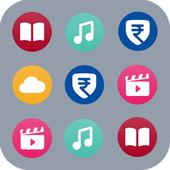 MyJio Barcode icon