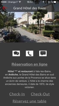 Grand Hôtel des Bains screenshot 2