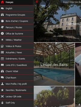 Grand Hôtel des Bains screenshot 9