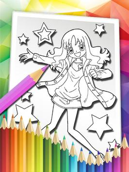 How To Color Pretty Cure Free apk screenshot