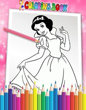 How To Color Disney Princess - Coloring Book poster