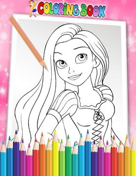 How To Color Disney Princess - Coloring Book apk screenshot