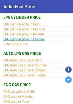 India Fuel Price apk screenshot