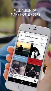 My Photo On Music Player screenshot 1