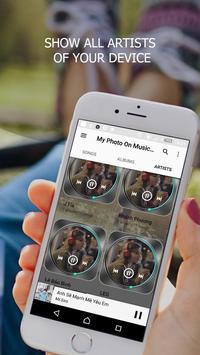 My Photo On Music Player screenshot 2