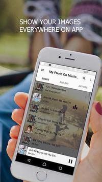 My Photo On Music Player screenshot 3