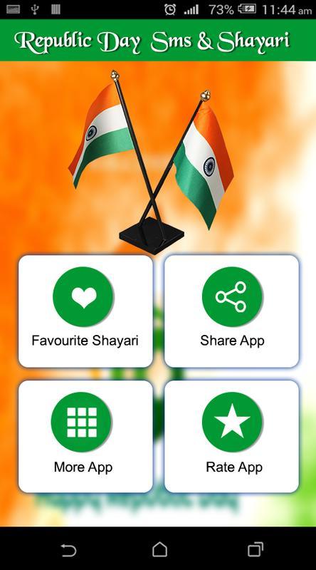 Republic day sms shayari 26 jan greetings 2018 apk download republic day sms shayari 26 jan greetings 2018 poster m4hsunfo