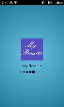 My Results poster