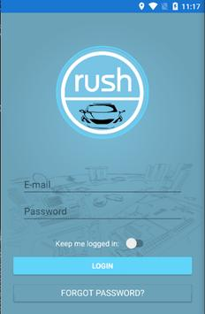 Rush Rides Driver poster