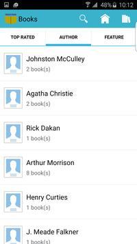 Detective mystery books apk screenshot