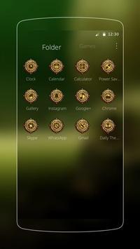 Mystical tech plant theme apk screenshot