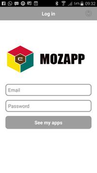 MOZAPP poster