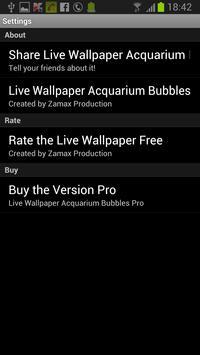 Aquarium Bubbles Free apk screenshot