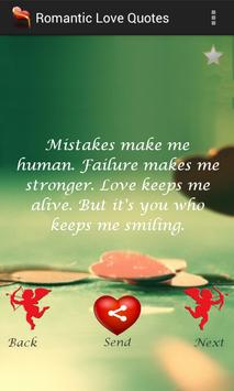 Romantic Love Quotes poster