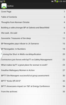 bpTT inTouch screenshot 1