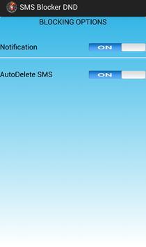 SMS BLOCKER DND screenshot 4