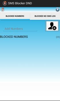 SMS BLOCKER DND screenshot 1