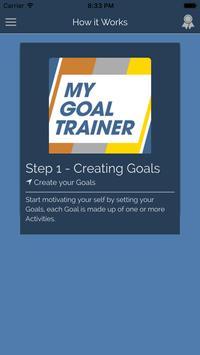 My Goal Trainer apk screenshot