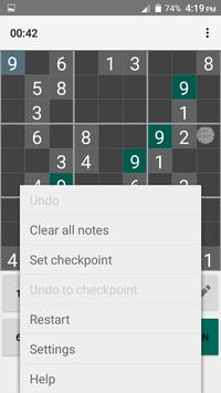 Sudoku Master, Sudoku Puzzle, Ultimate Sudoku Game apk screenshot
