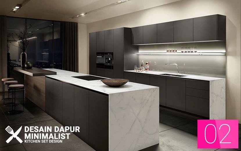 New Desain Dapur Minimalis Kitchen Set Design For Android Apk Download