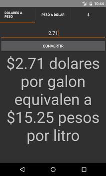 Calculadora Gasolinazo screenshot 1