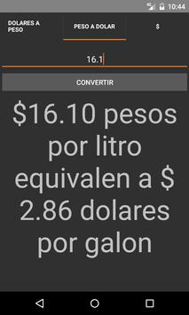 Calculadora Gasolinazo screenshot 2
