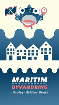 Maritim Byvandring poster
