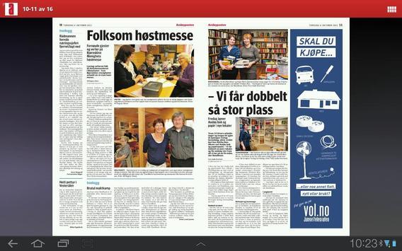Andøyposten apk screenshot
