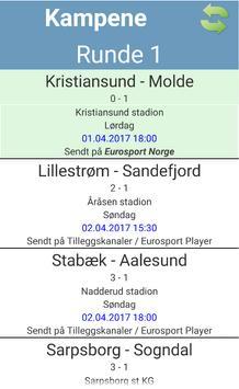 Eliteserien poster