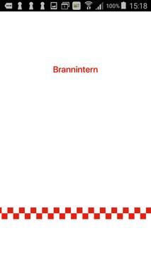 Brannintern poster