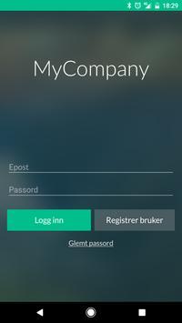 MyCompany Internal poster