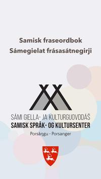 Samisk fraseordbok poster