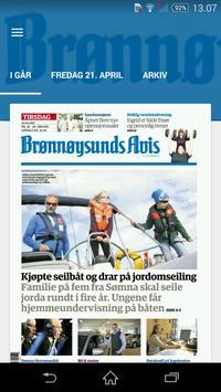 Brønnøysunds Avis eAvis poster