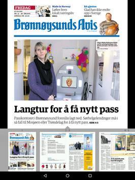 Brønnøysunds Avis eAvis apk screenshot