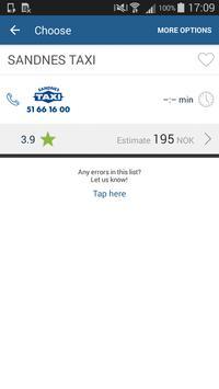 Sandnes Taxi+ apk screenshot