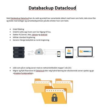 Databackup Datacloud screenshot 1