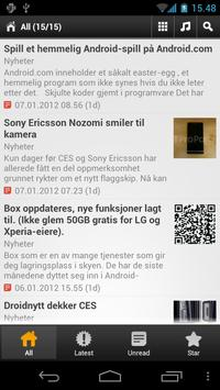 Droidnytt screenshot 3
