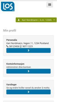 LOS Strøm apk screenshot