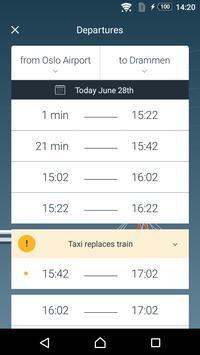 Oslo Airport Express apk screenshot