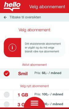 Hello - Min side apk screenshot