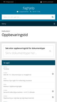 Infotjenester screenshot 1