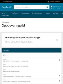Infotjenester screenshot 5