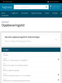 Infotjenester screenshot 9