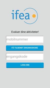 Ifea Evaluering apk screenshot