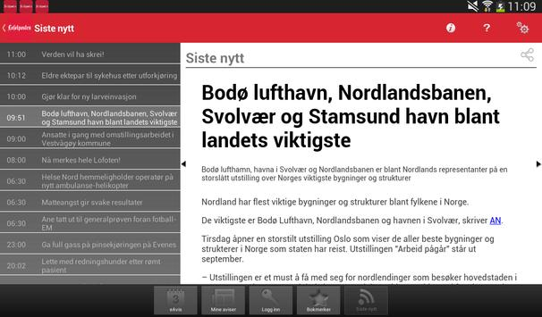 Lofotposten screenshot 2