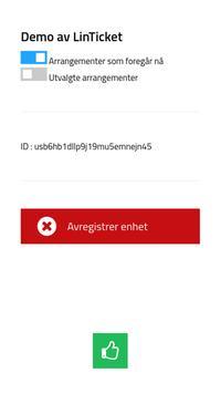 LinTicket skanner apk screenshot